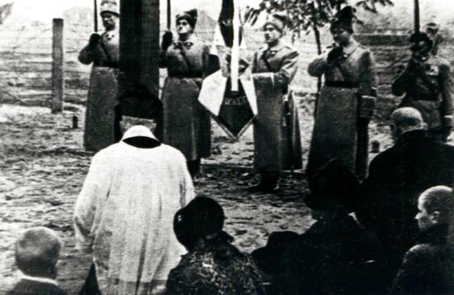 oświęcenie cmentarza Sybiraków w Warszawie w dniu 1 listopada 1938 roku